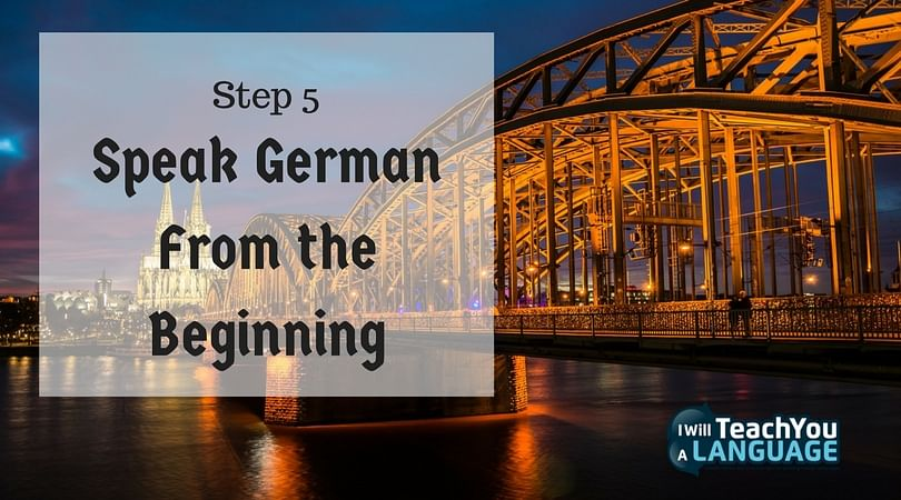 Speak German from the Beginning