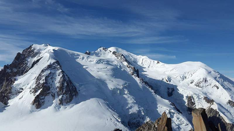 mont blanc french alps