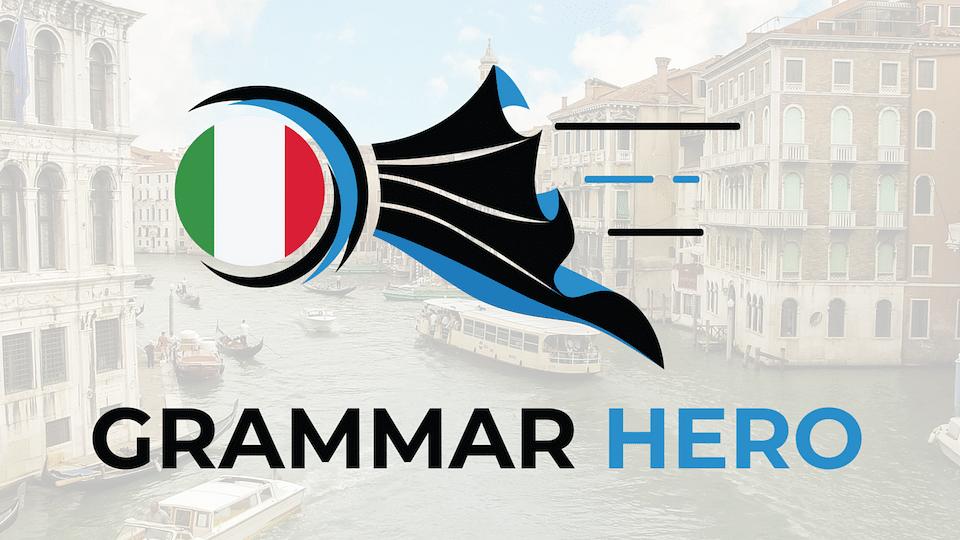 Italian Grammar Hero