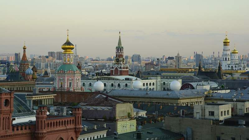 Rooftops of Moscow