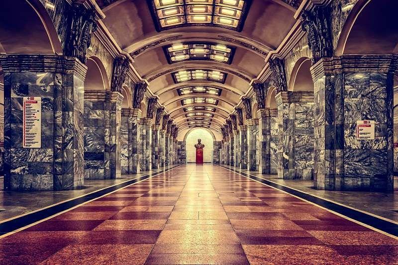 railway station, St Petersburg