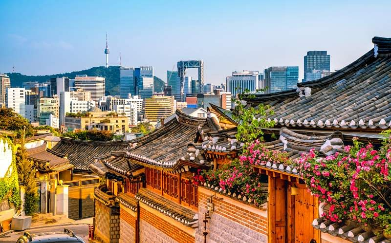 why learn Korean Seoul skyline