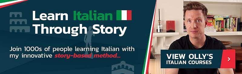 learn italian through story