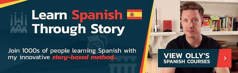 learn spanish through stroy